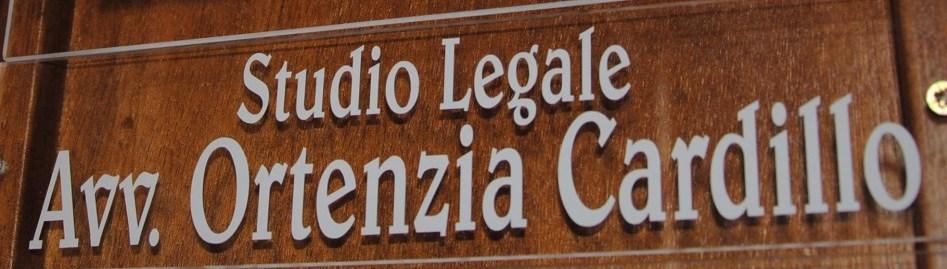 Studio Legale Avv. Ortenzia Cardillo